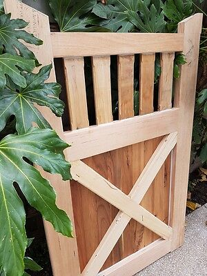 Picket Timber Fence GATE 1600 x 1000 KD Vic Ash Hardwood Cyprus COLONIAL GATES