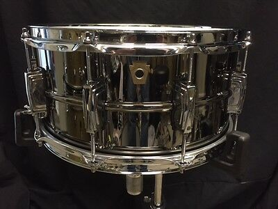 """Ludwig Black Beauty Snare Drum 6.5""""x14"""" Lb417"""