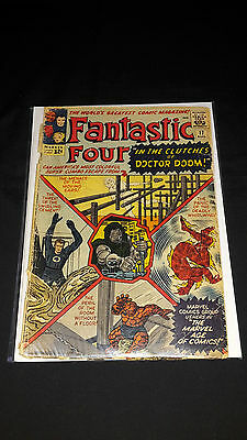Fantastic Four #17 - Marvel Comics - August 1963 - 1st Print