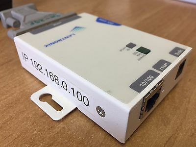 Lantronix MSS100 Micro Serial Server. MSS 100 Serial to network interface