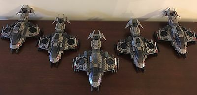 Halo Mega Bloks UNSC Custom Desert Eagles squadron. MUST SEE!