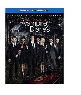 The Vampire Diaries: Season 8 Blu-Ray - The Final Season [2 Discs] -New Unopened