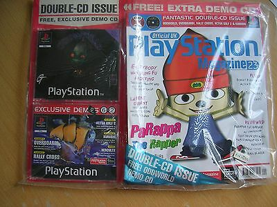 FACTORY SEALED Official UK Playstation Magazine issue 23 and demo disc PARAPPA