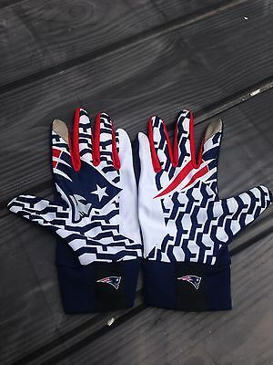 Nfl New England Patriot Nike Receiver Gloves