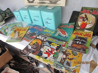 Lot of  14  Vintage  Jack and Jill  magazines 1961 67 68 69 70 71