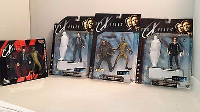 X-Files Action Figure Collection - McFarlaneToys Lot 4