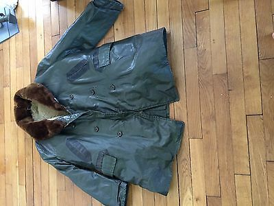rare manteau USN WW2 d-day US