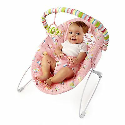 Bright Starts Playmates in the Park Infant Baby Vibrating Activity Bouncer Chair