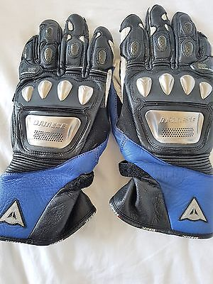 DAINESE  TITANIUM Leather Motorcycle Motorbike Bike Biker Gloves Size Large