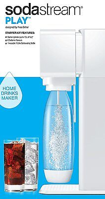 SodaStream Play Sparkling Water Maker - White FREE UK DELIVERY