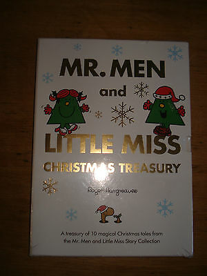 NEW  MR MEN and LITTLE MISS CHRISTMAS TREASURY 10 stories SEALED SLIPCASE