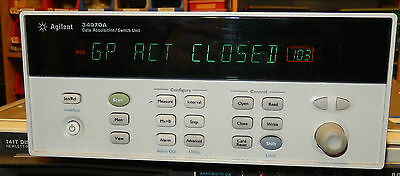 Agilent 34970A 34903A Data Acquisition Switch Unit with Relay Module