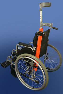 Crutch Pad / Holder High Vis Orange Waterproof (MOBILITY STYLE) SALE