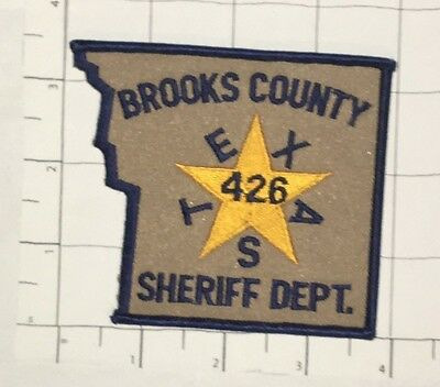 Brooks County Sheriff Dept Patch - Texas