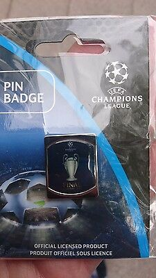 2017 champions league final Real Madrid v juventus pin badge cardiff
