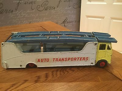 Dinky 984 car carrier transporter very rare us issue