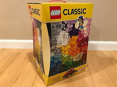 LEGO Classic 1500 Pieces XXL Large Creative Box 10697 - New and Sealed