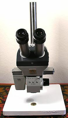 Carl Zeiss STEMI Greenough DRC Stereo Microscope with four Magnification Options
