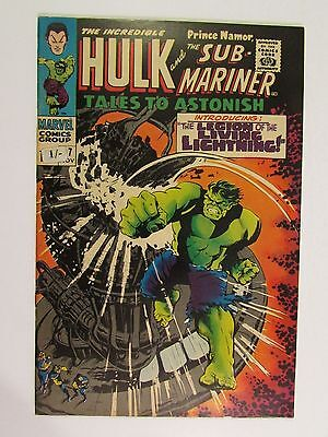 "Nm-  ""tales To Astonish"" #97 Nov 1967 Incredible Hulk Silver Age Marvel Comic"