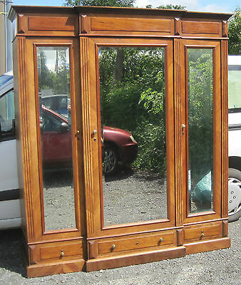 Large Antique French Wardrobe / Compactum.
