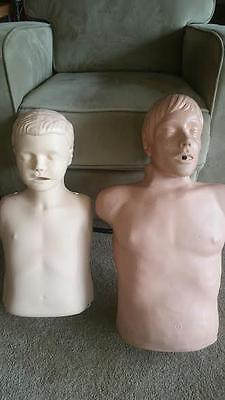 Laerdal Adult CPR Training Dummy Plus Laerdal Child CPR Training Dummy FREE SHIP