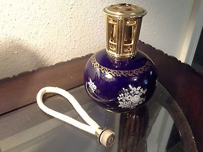 Lampe Berger Bleu Sevres Catalytic Fragrance Lamp w/replacement wick