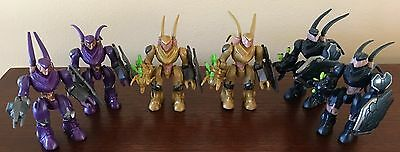Halo Mega Bloks Covenant Hunter Lot.   (Adult Owned) LAST SET!