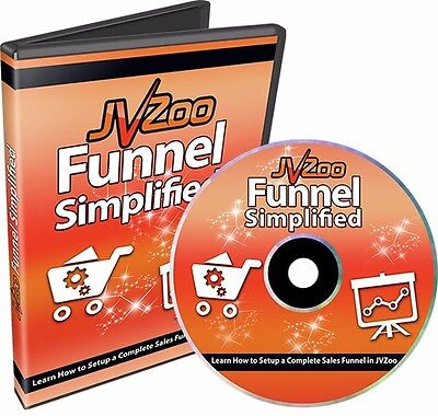 JVzoo Funnel Creation Simplified Video Course