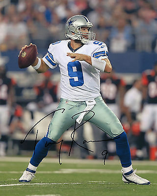 Tony Romo - Dallas Cowboys Quarterback - NFL - Signed Autograph REPRINT