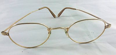 VINTAGE ALGHA - 12 KT  GOLD -  GF - 128 mm wide- GLASSES SPECTACLES  -NO LENSES