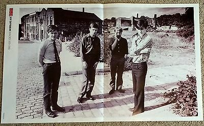 Joy Division / Ian Curtis - NME Double-Sided Black & White Poster Pull-Out RARE