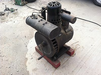 Original Delco 32 volt Light Plant Hit & Miss Gas Gasoline Engine vintage power
