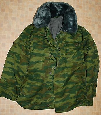 "Original Russian Army Camo Winter Suit(Jacket&Pants).""FLORA""pattern.2007.58-4."