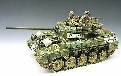 King & Country DD50 M18 Hellcat American Tank Destroyer & crew