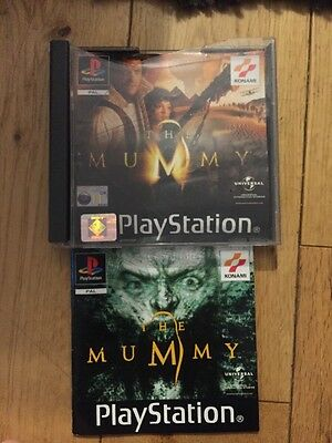 The Mummy Ps1 Manual And Case Only