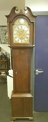 Scottish  8 Day Oak Longcase Clock A Miller, Montrose