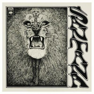 Santana  **VERY LARGE POSTER** First Album Promo ad Carlos Latin Rock - MUST SEE