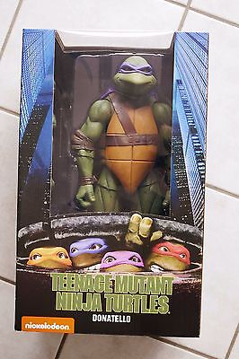 "Exc Box - NECA 1/4 18"" - Teenage Mutant Hero / Ninja Turtles - Donatello - NEU"
