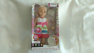 NIP My Friend Cayla Party Time Blonde Interactive Doll Bluetooth