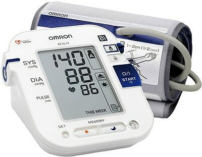 Omron M10 IT Upper Arm Blood Pressure Monitor Body Surface And Room Temperature