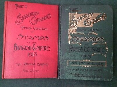 Stanley Gibbons Priced Catalogue of The british Empire & Foreign Countires 1 & 2