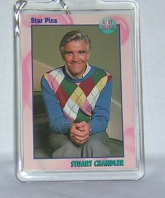 All My Children AMC David CANARY Stuart CHANDLER KEYCHAIN NEW