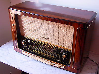Grundig 5050 Röhrenradio working fine