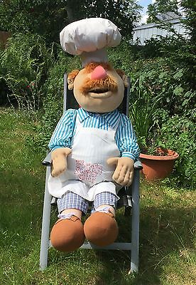 Swedish Chef LIFE-SIZE 160cm/62inch plush doll by IGEL Muppets Waldorf Statler