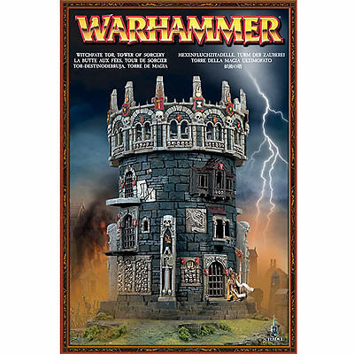 New Oop Warhammer Witchfate Tor Tower Of Sorcery Age Of Sigmar Mordheim