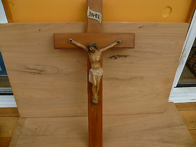 Vintage Old Religious Cross, Crucifix (18)