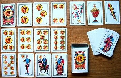 A Beautiful And Unusual Collectable Complete Deck Of 5O Spanish Playing Cards