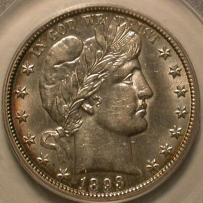 1893-O Barber Half Dollar PCGS AU-53 with extraordinary luster for the grade!