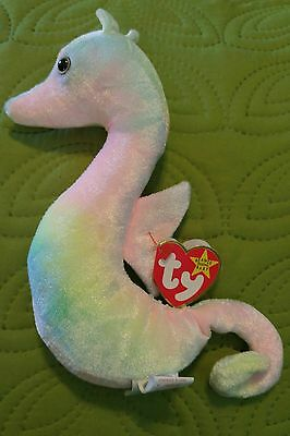 Ty beanie baby Neon with 2 ERRORS and Neon Beanie Buddy!