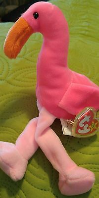 Ty beanie babies Pinky With ERRORS